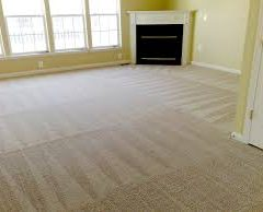clean white carpet